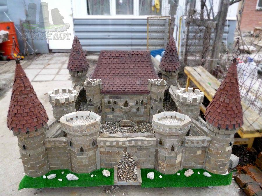 Поделки замки из камней своими 77