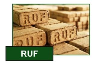 Топливные брикеты RUF от производителя