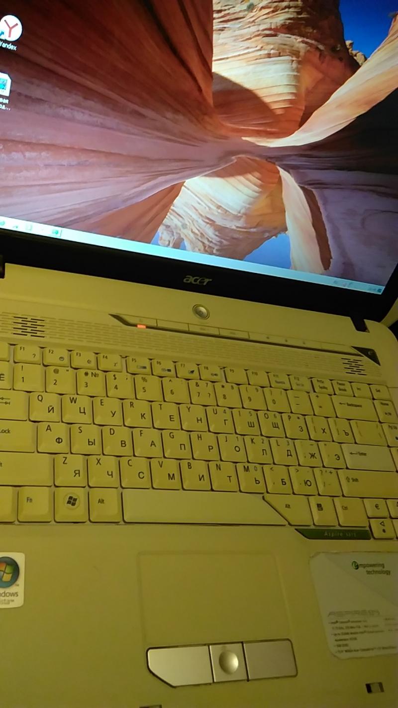 Ноутбук Acer Aspire 6315, 1,7 Ghz, 1 Gb, 15,4, dvd, cr, usb, wi-fi  Хор. сост В